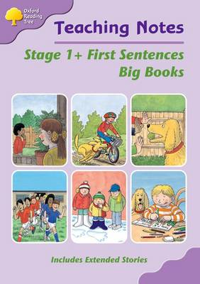 Oxford Reading Tree: Level 1+: First Words: Big Book Teaching Notes by Liz Miles, Thelma Page, Gill Howell, Pam Mayo