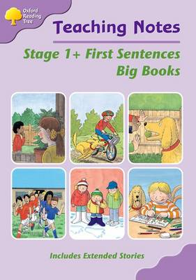 Oxford Reading Tree: Level 1+: First Sentences: Big Book Teaching Notes by Mary Mackill, Thelma Page, Liz Miles, Gill Howell