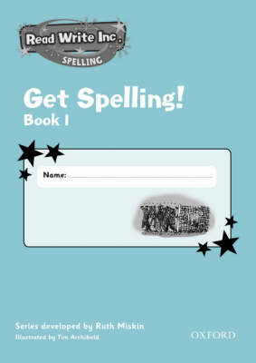 Read Write Inc.: Get Spelling Book 1 Pack of 5 by Ruth Miskin