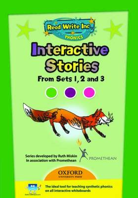 Read Write Inc. Phonics: Interactive Stories CD-ROM 1 Multi User by Ruth Miskin
