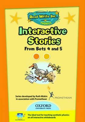 Read Write Inc. Phonics: Interactive Stories CD-ROM 2 Multi User by Ruth Miskin