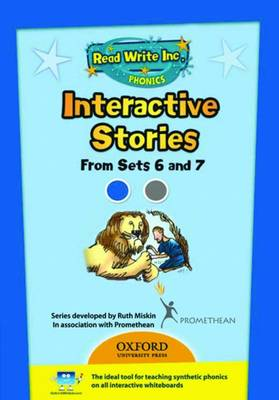 Read Write Inc. Phonics: Interactive Stories CD-ROM 3 Multi User by Ruth Miskin