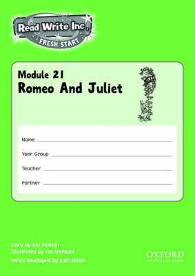 Read Write Inc.: Fresh Start: Modules 21-25 Pack of 5 by Gill Munton