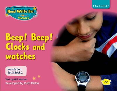 Read Write Inc. Phonics: Non-fiction Set 3 (pink): Beep! Beep! by Gill Munton, Ruth Miskin