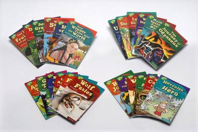 Oxford Reading Tree: Levels 9-16: Treetops Myths and Legends: Super Easy Buy Pack by