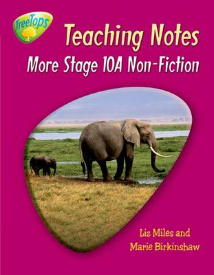 Oxford Reading Tree: Level 10 Pack A: Treetops Non-fiction: Teaching Notes by Gill Howell, Marie Birkinshaw, Liz Miles, Thelma Page
