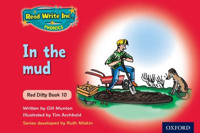 Read Write Inc. Phonics: Red Ditty Books School Pack of 100 by Ruth Miskin, Gill Munton
