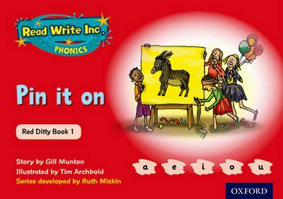 Read Write Inc. Phonics: Red Ditty Book 1 Pin It On by Ruth Miskin, Gill Munton