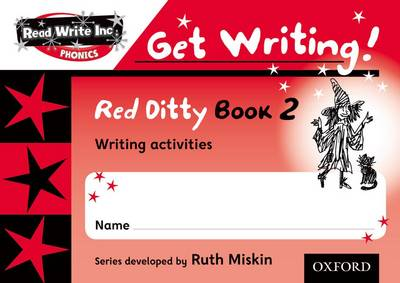 Read Write Inc. Phonics: Get Writing!: Red Ditty Books 1-5 School Pack by Ruth Miskin