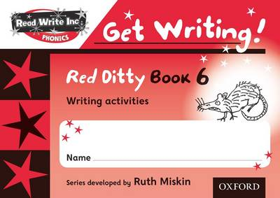 Read Write Inc. Phonics: Get Writing!: Red Ditty Books 6-10 School Pack by Ruth Miskin