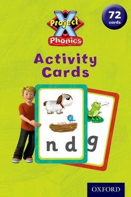 Project X: Phonics Activity Cards by James Edward