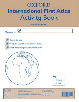 Oxford International First Atlas Activity Book by Patrick Wiegand