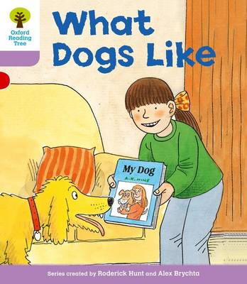 Oxford Reading Tree Level 1+: More First Sentences A: What Dogs Like by Roderick Hunt, Gill Howell
