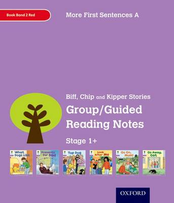 Oxford Reading Tree: Level 1+: More First Sentences A: Group/Guided Reading Notes by Roderick Hunt, Gill Howell