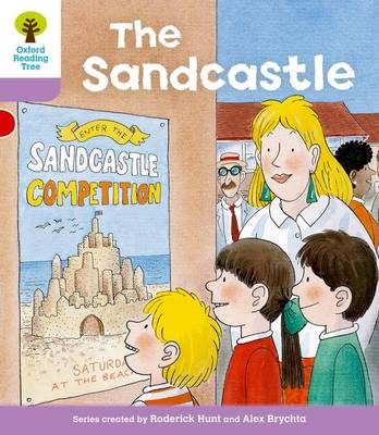 Oxford Reading Tree Level 1+: More First Sentences B: Sandcastle by Roderick Hunt, Gill Howell