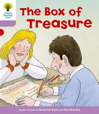 Oxford Reading Tree Level 1+: More First Sentences B: the Box of Treasure by Roderick Hunt, Gill Howell
