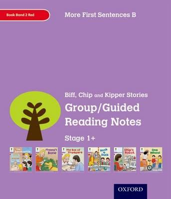 Oxford Reading Tree: Level 1+: More First Sentences B: Group/Guided Reading Notes by Roderick Hunt, Gill Howell