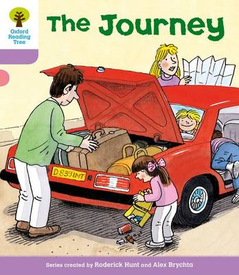 Oxford Reading Tree Level 1+: More Patterned Stories: Journey by Roderick Hunt, Gill Howell