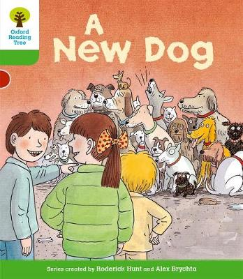 Oxford Reading Tree: Level 2: Stories: a New Dog by Roderick Hunt, Thelma Page