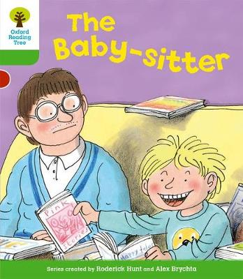 Oxford Reading Tree: Level 2: More Stories A: the Baby-Sitter by Roderick Hunt, Thelma Page