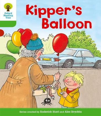 Oxford Reading Tree: Level 2: More Stories A: Kipper's Balloon by Roderick Hunt, Mr. Alex Brychta, Thelma Page