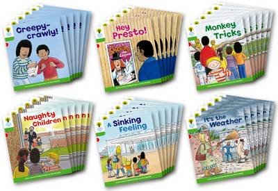 Oxford Reading Tree: Level 2: Patterned Stories: Class Pack of 36 by Roderick Hunt, Thelma Page
