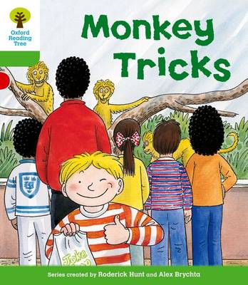 Oxford Reading Tree: Level 2: Patterned Stories: Monkey Tricks by Thelma Page, Roderick Hunt