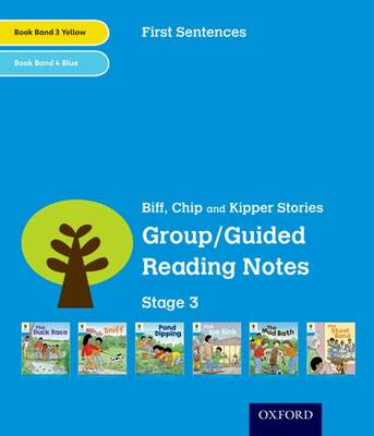 Oxford Reading Tree: Level 3: First Sentences: Group/Guided Reading Notes by Roderick Hunt, Gill Howell