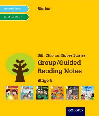Oxford Reading Tree: Level 5: Stories: Group/Guided Reading Notes by Roderick Hunt, Liz Miles