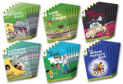 Oxford Reading Tree: Level 7: Stories: Class Pack of 36 by Roderick Hunt, Lucy Tritton