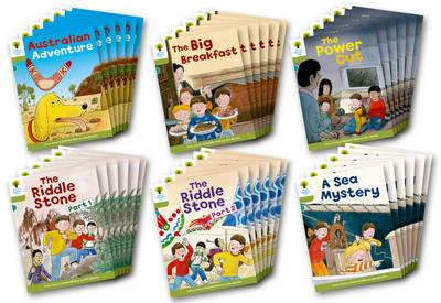 Oxford Reading Tree: Level 7: More Stories B: Class Pack of 36 by Roderick Hunt, Lucy Tritton