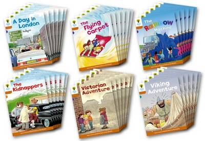 Oxford Reading Tree: Level 8: Stories: Class Pack of 36 by Roderick Hunt, Liz Miles