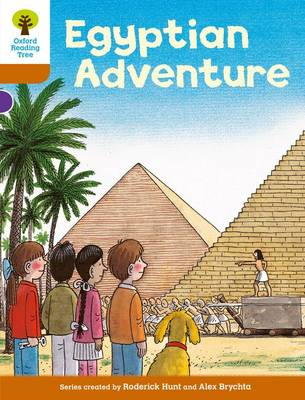 Oxford Reading Tree: Level 8: More Stories: Egyptian Adventure by Roderick Hunt