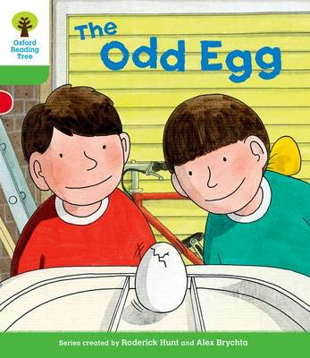 Oxford Reading Tree: Level 2: Decode and Develop: the Odd Egg by Roderick Hunt, Ms Annemarie Young, Liz Miles