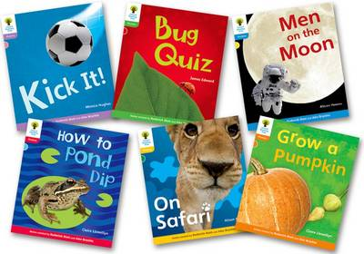Oxford Reading Tree: Floppy's Phonics Non Fiction: Evaluation Pack by Monica Hughes, Gregory Cook, James Edward, Claire Llewellyn