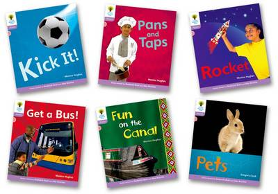 Oxford Reading Tree: Level 1+: Floppy's Phonics Non-Fiction: Pack of 6 by Monica Hughes, Thelma Page, Roderick Hunt