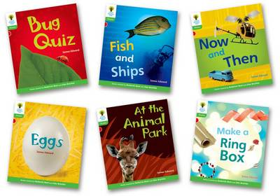 Oxford Reading Tree: Level 2: Floppy's Phonics Non-Fiction: Pack of 6 by James Edward, Liz Miles, Monica Hughes, Thelma Page
