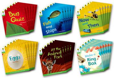 Oxford Reading Tree: Level 2: Floppy's Phonics Non-Fiction: Class Pack of 36 by James Edward, Liz Miles, Monica Hughes, Thelma Page