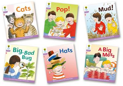 Oxford Reading Tree: Level 1+: Floppy's Phonics Fiction: Pack of 6 by Roderick Hunt, Kate Ruttle