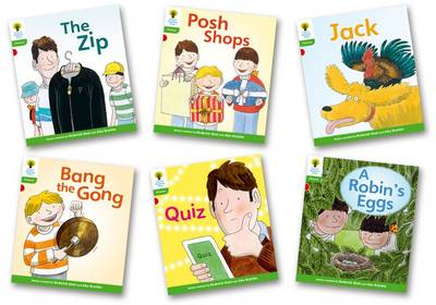 Oxford Reading Tree Floppy's Phonics Fiction Level 2 Pack of 6 by Roderick Hunt, Kate Ruttle