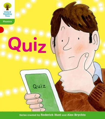Oxford Reading Tree: Level 2: Floppy's Phonics Fiction: Quiz by Roderick Hunt, Kate Ruttle