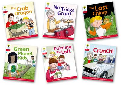 Oxford Reading Tree: Level 4: Floppy's Phonics Fiction: Pack of 6 by Roderick Hunt, Kate Ruttle
