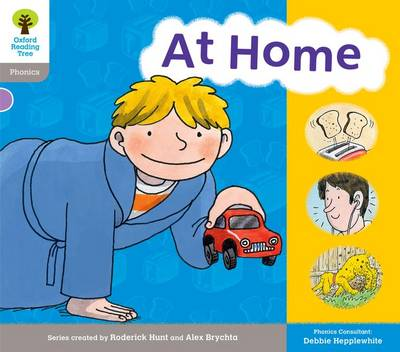 Oxford Reading Tree: Level 1: Floppy's Phonics: Sounds and Letters: at Home by Roderick Hunt, Debbie Hepplewhite, Kate Ruttle