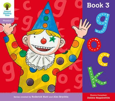 Oxford Reading Tree: Level 1+: Floppy's Phonics: Sounds and Letters: Book 3 by Roderick Hunt, Debbie Hepplewhite
