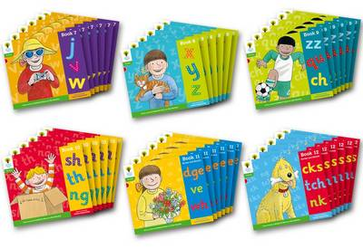 Oxford Reading Tree: Level 2: Floppy's Phonics: Sounds and Letters: Class Pack of 36 by Debbie Hepplewhite, Roderick Hunt