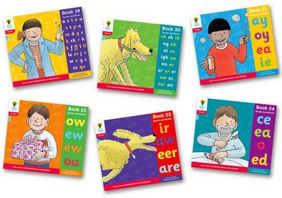 Oxford Reading Tree: Level 4: Floppy's Phonics: Sounds and Letters: Pack of 6 by Debbie Hepplewhite, Roderick Hunt