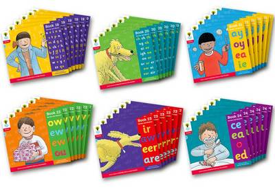 Oxford Reading Tree: Level 4: Floppy's Phonics: Sounds and Letters: Class Pack of 36 by Debbie Hepplewhite, Roderick Hunt