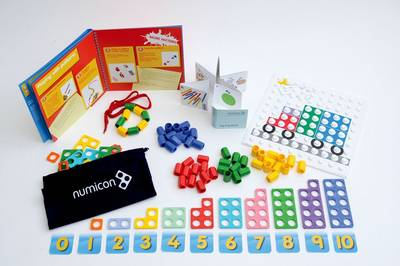 Numicon: First Steps with Numicon at Home Kit by