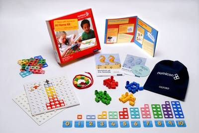 Numicon: First Step Numicon at Home Book/Bundle Kit by