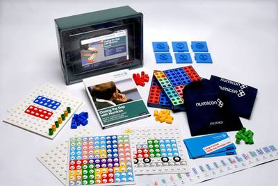 Numicon: Closing the Gap with Numicon - Group Kit by